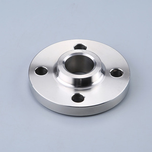 Flat welded flange with neck