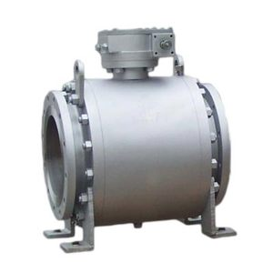 GB trunnion mounted ball valve