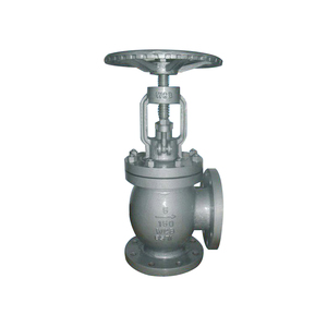 GB Cast Steel Angular Globe Valve