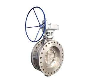 Three Eccentric Hard Sealed Flange Butterfly Valve