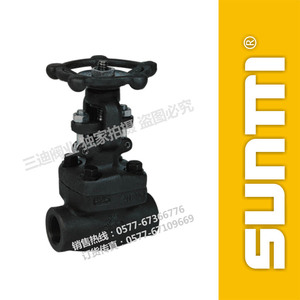 Forged steel gate valve internal threaded gate valve